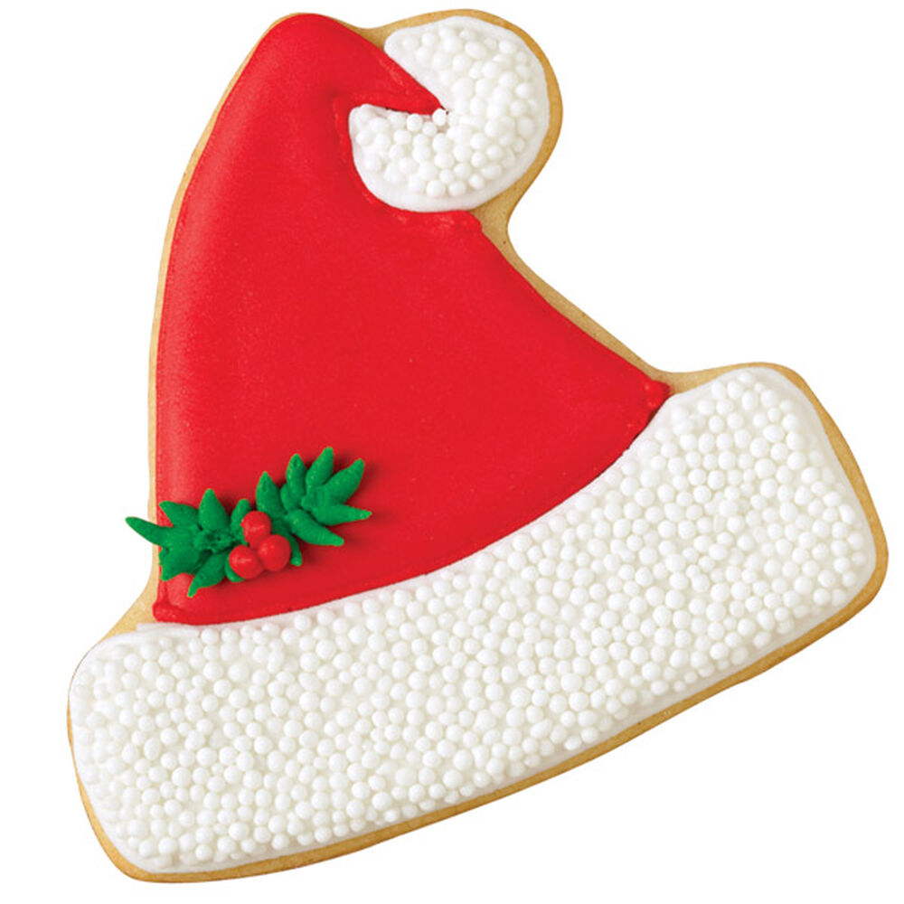 Jolly Santa Hat Cookie | Wilton