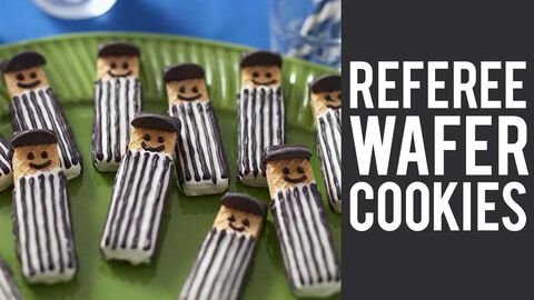How to May Referee Wafer Cookies