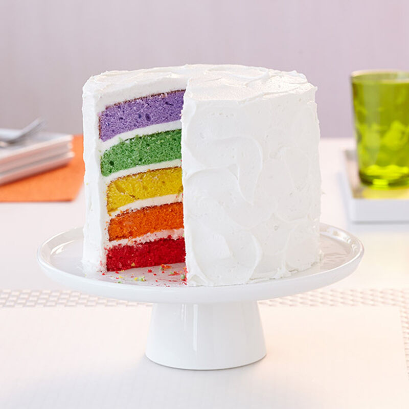 Rainbow Reveal Easy Layers! Cake image number 0
