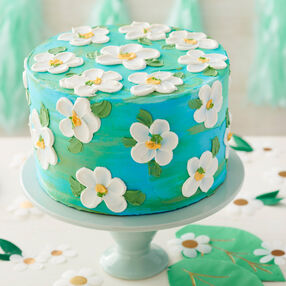 Summer Blooms Buttercream Flower Cake