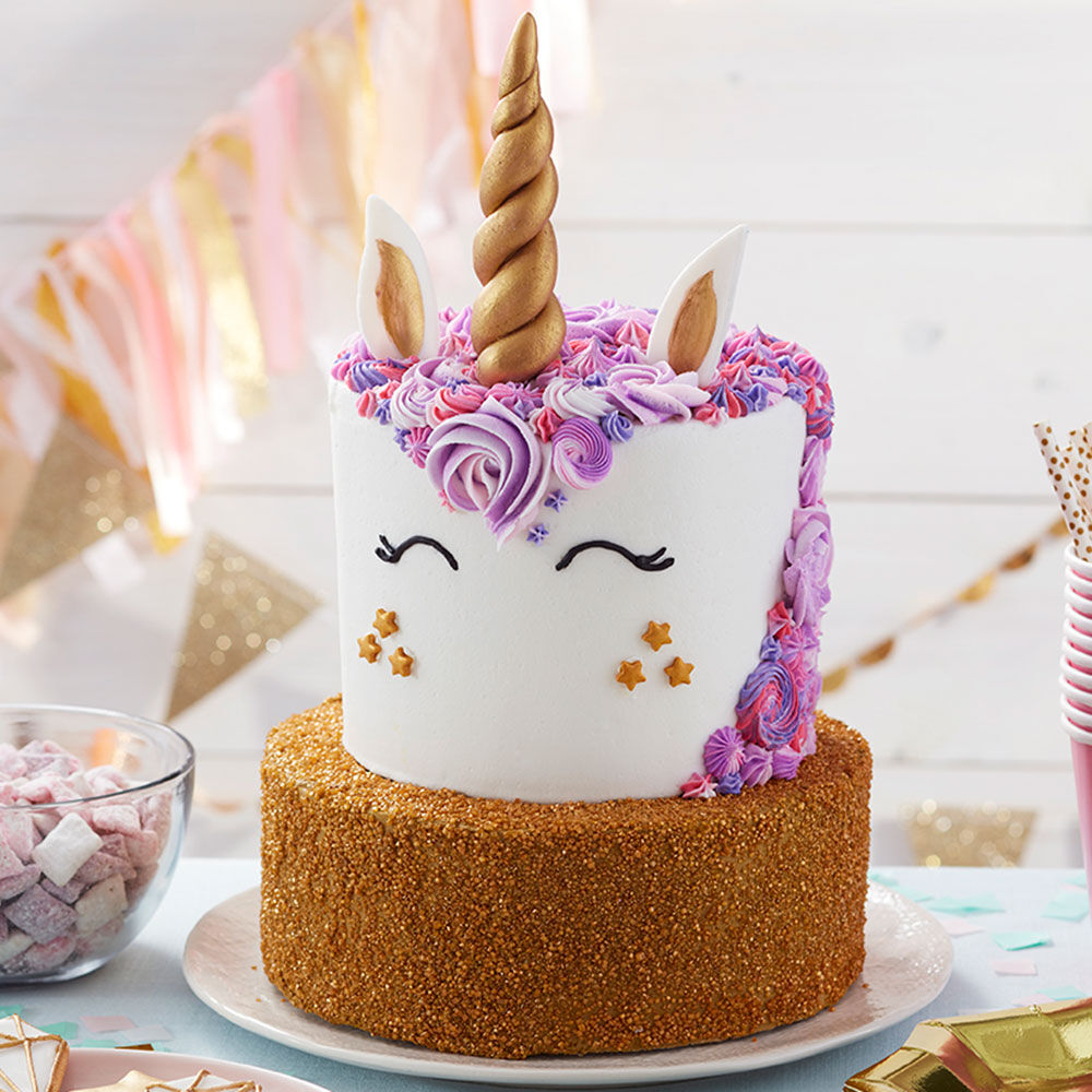 Homemade Unicorn Birthday Cake Recipe | Wilton