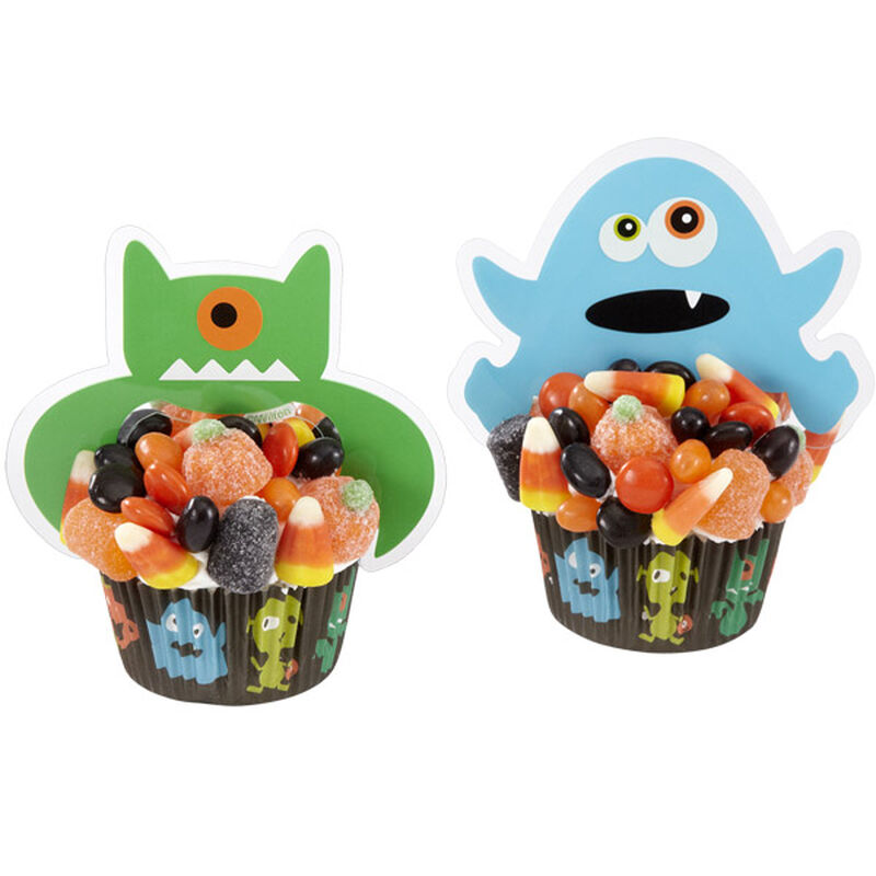 Candy-Loving Monster Cupcake image number 0