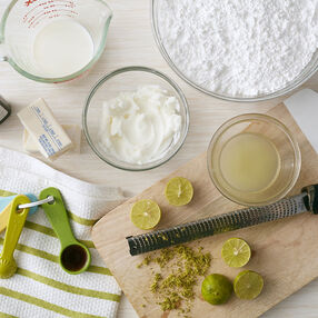 Key Lime Buttercream Frosting Recipe