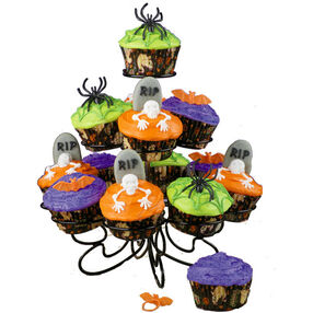 Haunted High-Rise Cupcakes