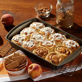 Peach Hot Rolls Recipe