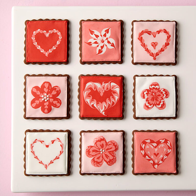 Love Squared Valentine Cookies image number 0