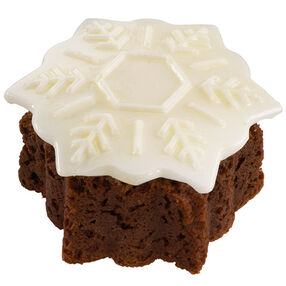 Enchanted Snowflake Mini Cake