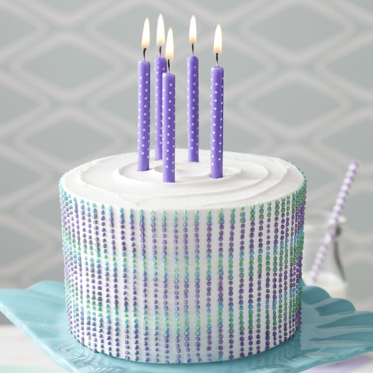 Purple Persuasion Cake