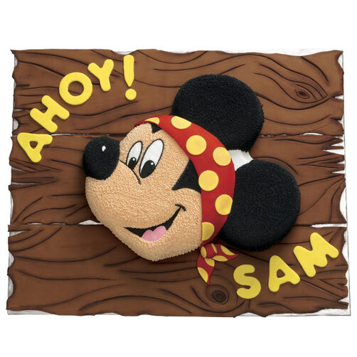 Matey Mickey Mouse Cake
