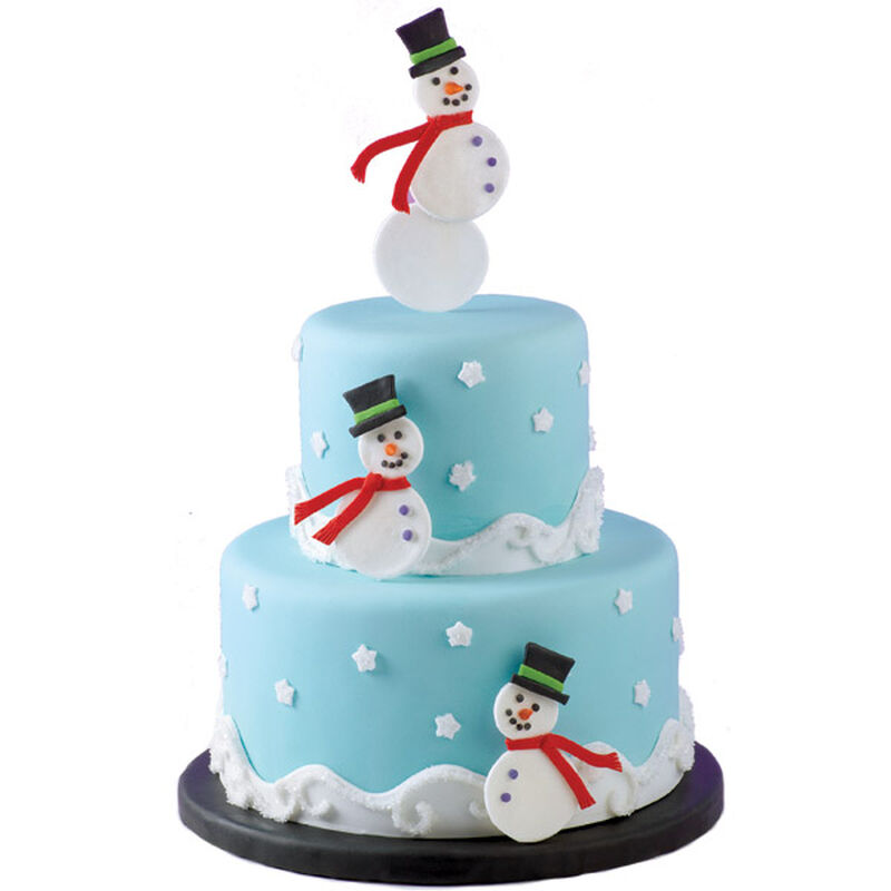 Snowman Summit Cake image number 0