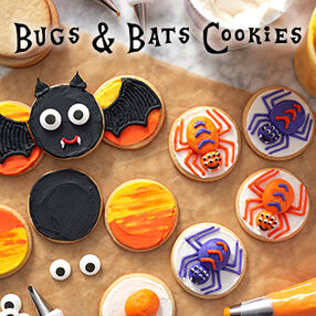 Bugs and Bats Cookie Class