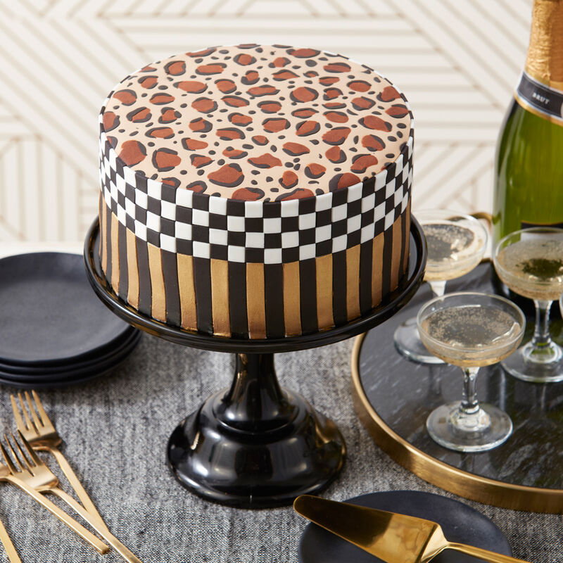 Awesome Wild About You Leopard Print Cake Wilton Funny Birthday Cards Online Elaedamsfinfo