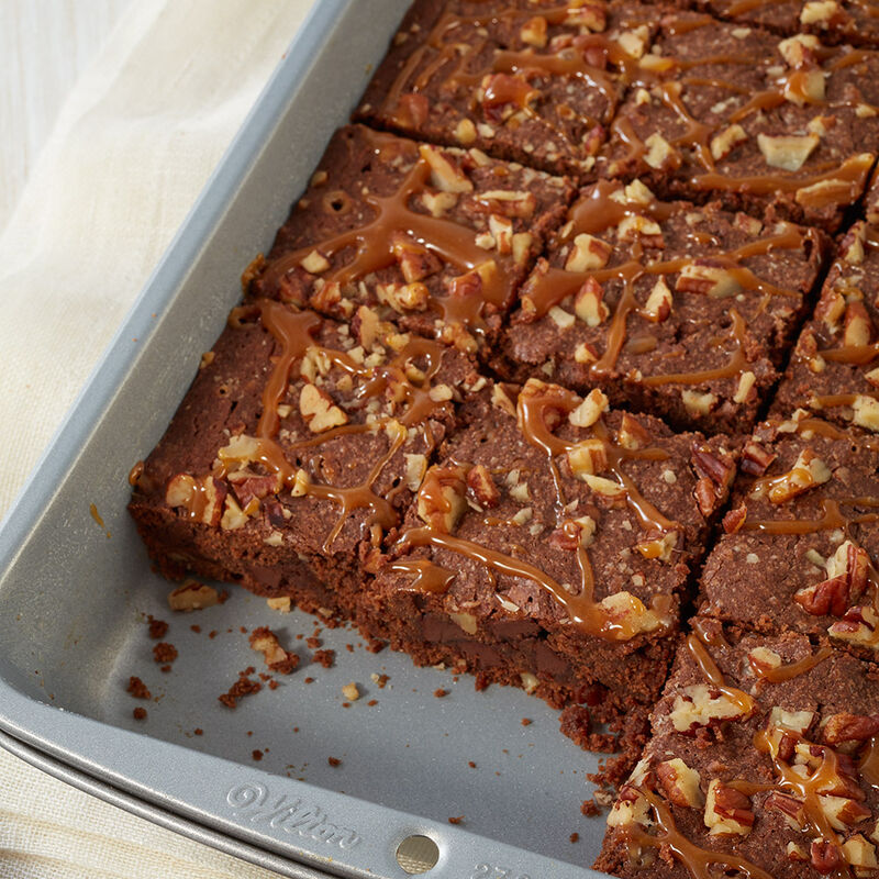 Caramel Pecan Brownies image number 0