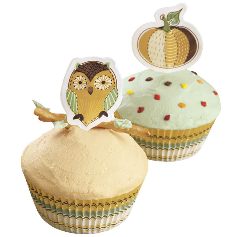 Simple and Easy Autumn Cupcakes image number 0