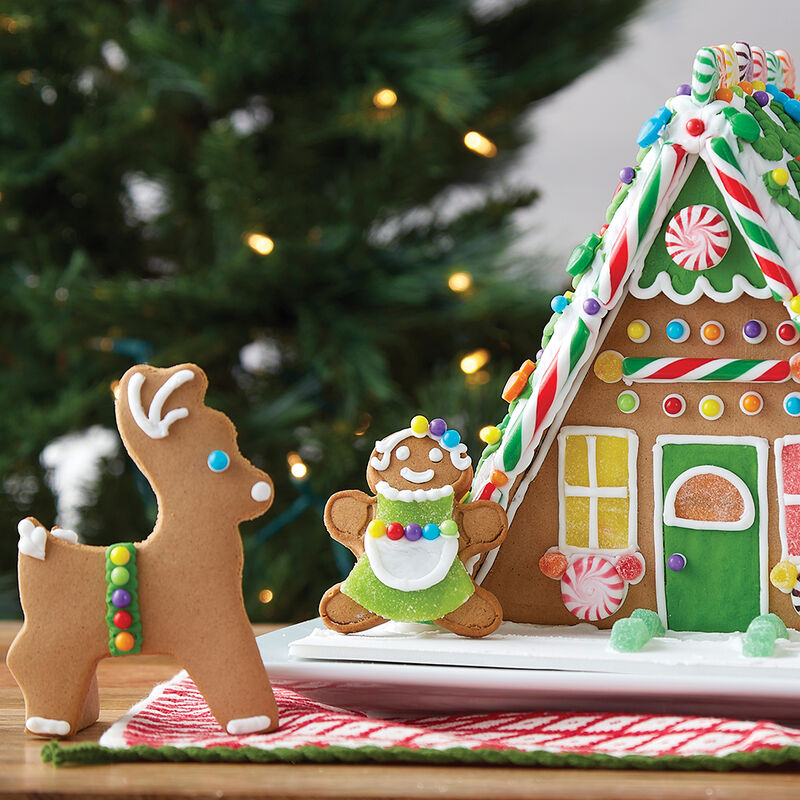 A Plus A-Frame Gingerbread House  image number 2