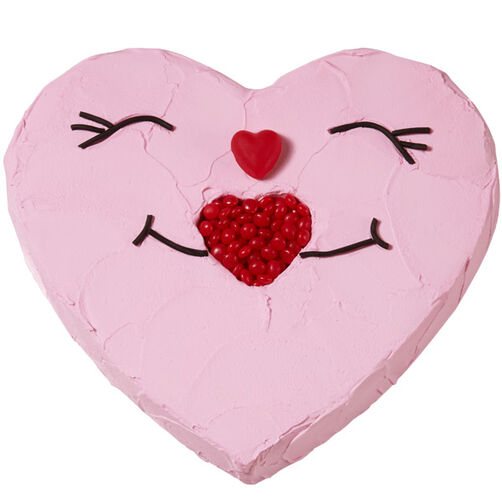Sweet Smiles Heart Cake Wilton