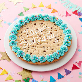 Happy Birthday Giant Cookie Cake