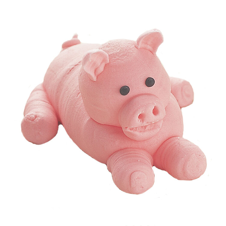 Pig Laying Down