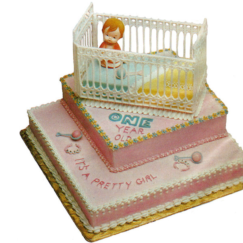 Baby's Big Day Cake image number 0