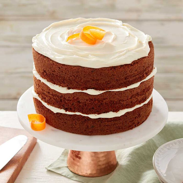 Perfectly Moist Homemade Carrot Cake