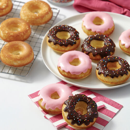 Baked Doughnuts With Cake Mix