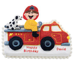 Junior Firefighter Cake