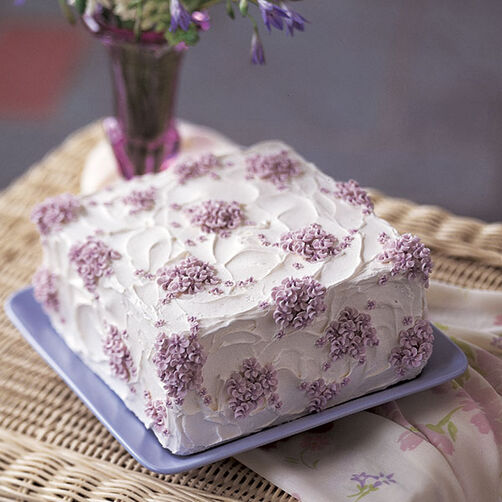 Photos Of Cakes Decorated With Flowers