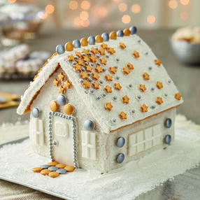More Bling Gingerbread House