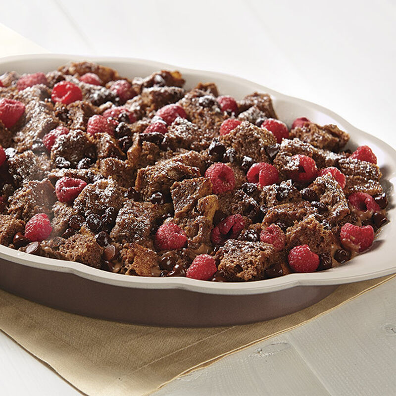 Chocolate Raspberry Bread Pudding image number 0