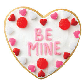 Be Mine Heart Cookies