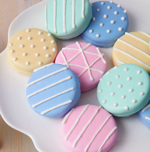 Sweet Surprise Candy Cookies