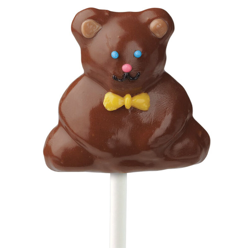Brown Bear Cake on a Stick image number 0