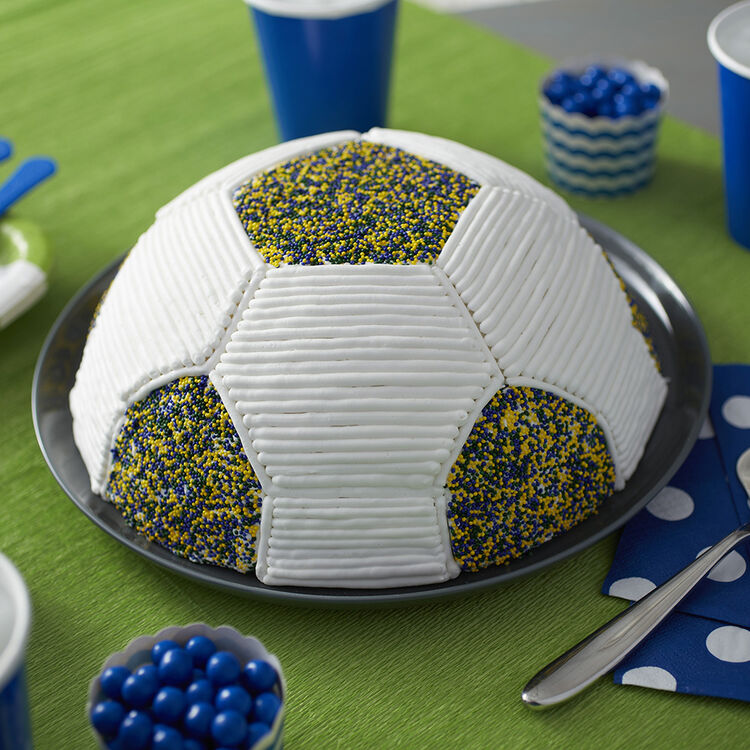 Go for the Goalie Soccer Cake