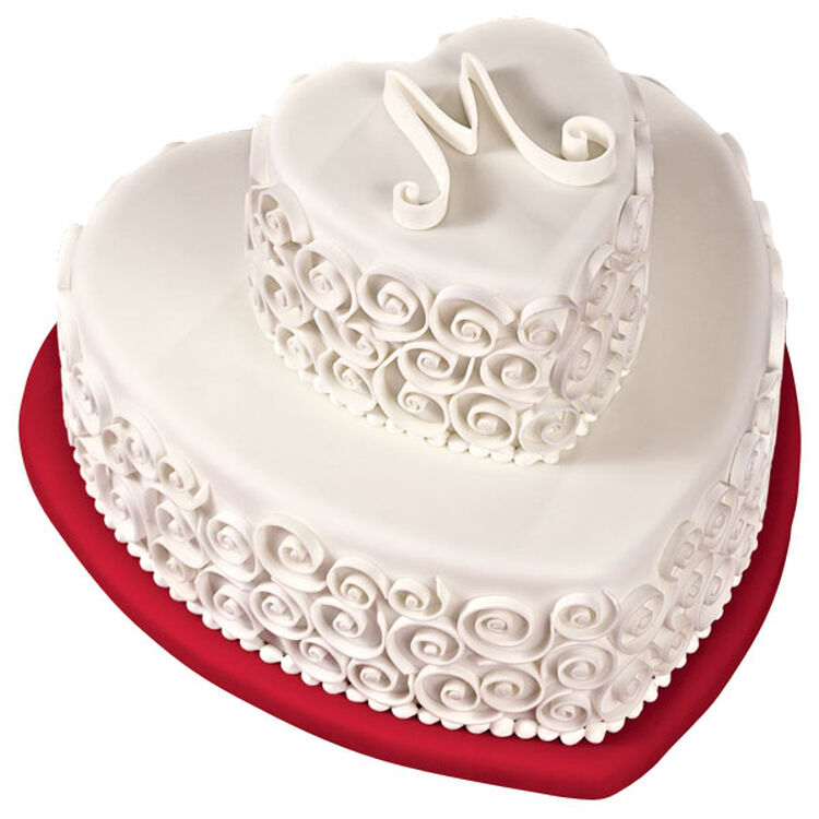 Twirling Tiers Cake