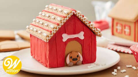 How to Make a Gingerbread Dog House