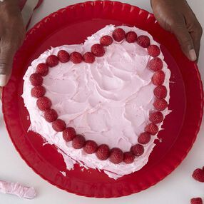 Cupid's Heart Cake