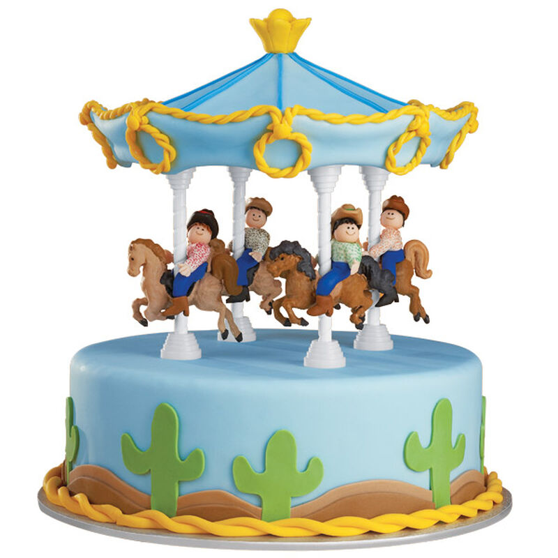 The Posse Is Circling! Cake image number 0