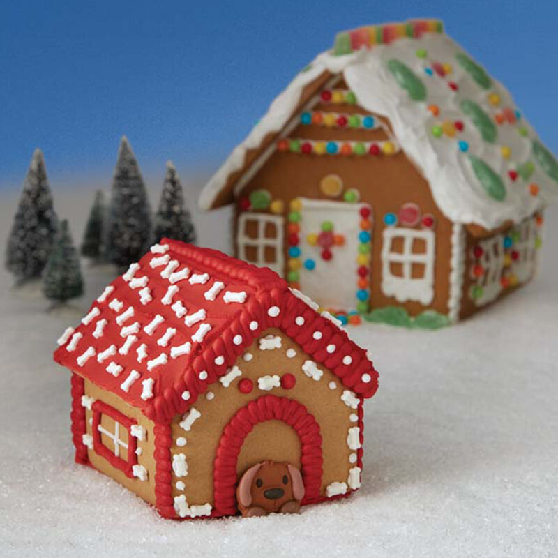 A Puppy for Christmas Gingerbread Doghouse image number 0