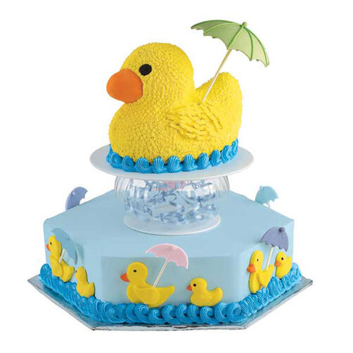 Duck Under Cover Cake Wilton