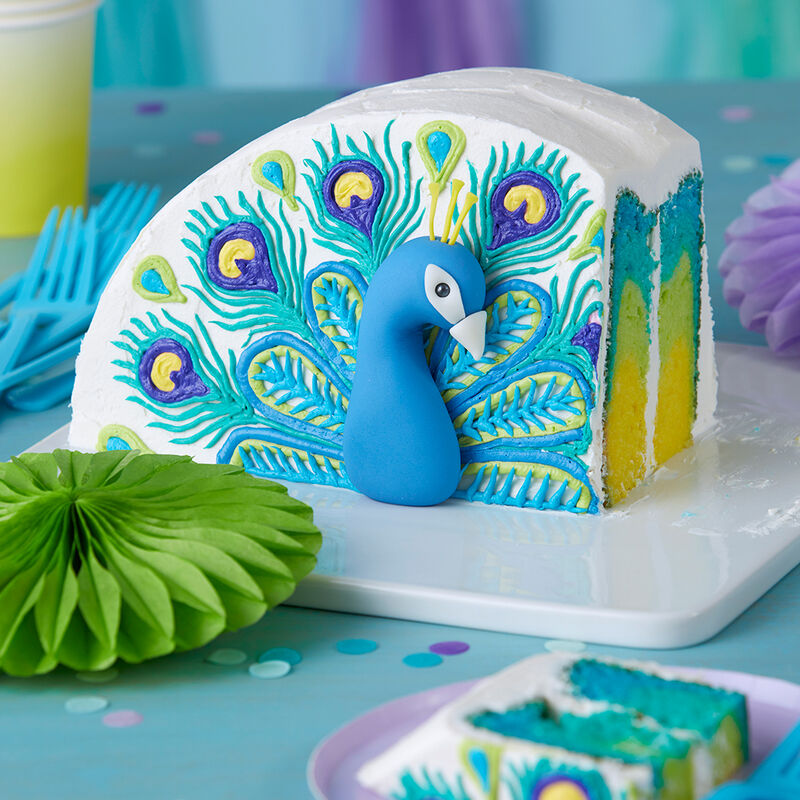 Pretty Peacock Cake image number 0