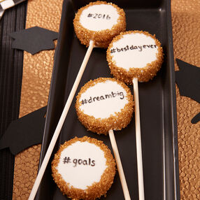 Graduation Cookie Pops