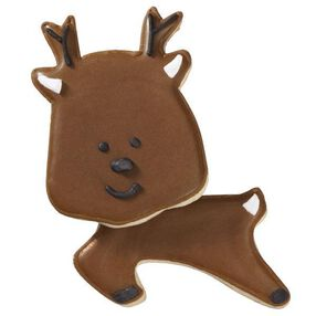 Dashing and Dancing Reindeer Cookies