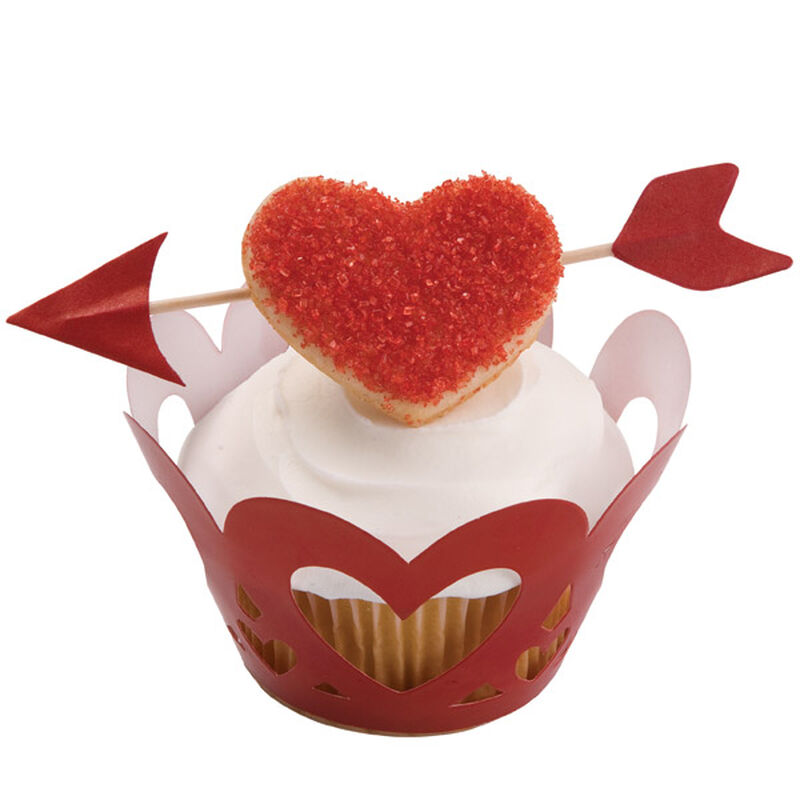 An Arrow for Your Beau Cupcake image number 0