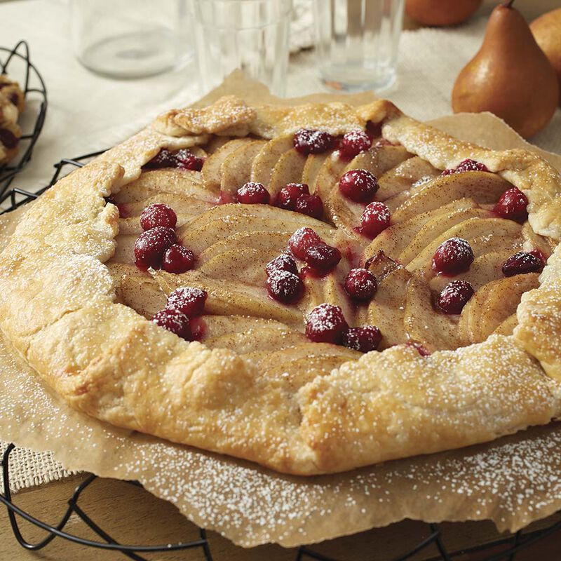 Cranberry Pear Galette image number 0