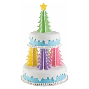 Oh Christmas Trees Cake