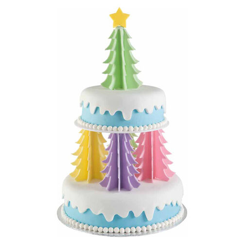 Oh Christmas Trees Cake Wilton