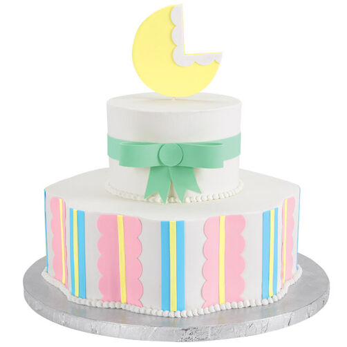 Bouncing Baby Buggy Shower Cake