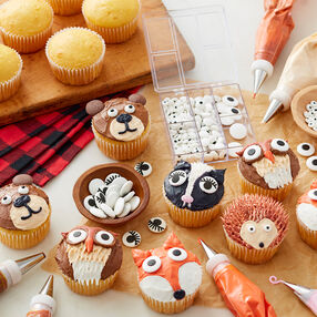 Cute Woodland Creature Cupcakes