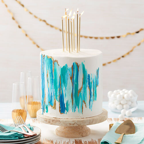 How to make edible cake paint