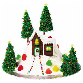 Holiday Hideaway Cake